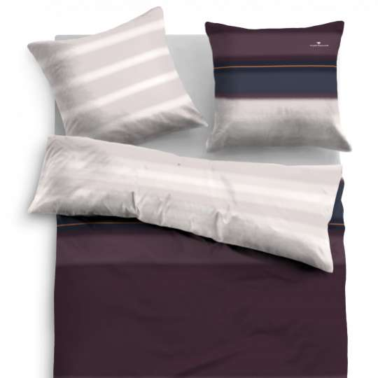 """Tom Tailor SATIN BED LINEN """"FLOW"""" 69983_853"""