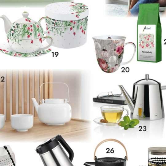 It's teatime! Produktvorschläge von TrendXpress