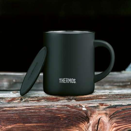 Thermos-Longlife-Mug-black-matt-mit-Deckel-mood