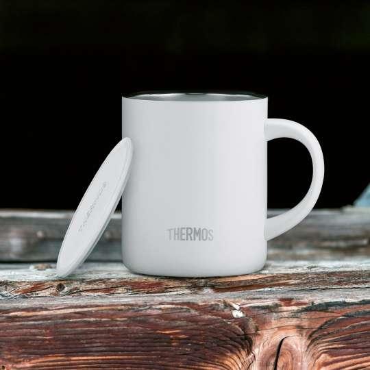 Thermos-Longlife-Mug-white-matt-mit-Deckel-mood
