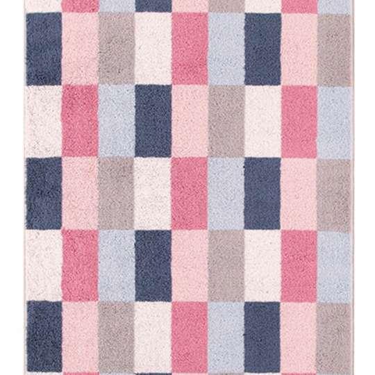 VVilleroy & Boch - Coordinates Collection Handtuch Karo - Pink, Blau, Grau