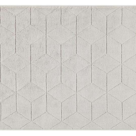 Villeroy & Boch - Coordinates Collection Carré - Gewebte Badematte - grau