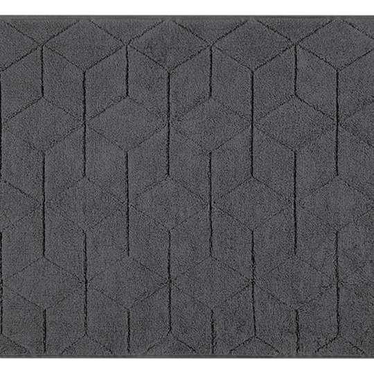 Villeroy & Boch - Coordinates Collection Carré - Gewebte Badematte - graphit