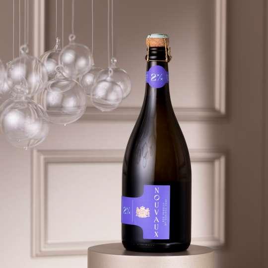 VAUX - Flasche NOUVAUX - New Bubbles hoch