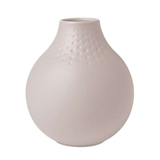 Villeroy & Boch Manufacture Collier Vase in Beige