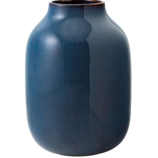 Villeroy & Boch - Vase Nek bleu uni groß Lave Home