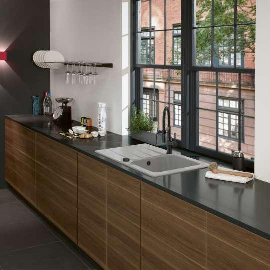 Architectura 45 und Küchenarmatur Steel Expert von Villeroy und Boch