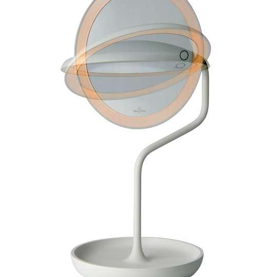 Villeroy & Boch - Versailles - Led-Beleuchteter Kosmetikspiegel, Aluminium, weiß