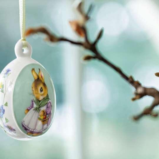 Villeroy Boch Spring Fantasy Osterei hellblau