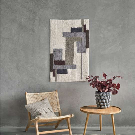 Villa Collection - Teppich Grey - Blume