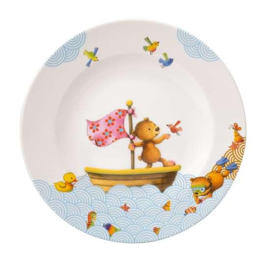 Villeroy & Boch - Happy as a Bear Kinderteller flach,  Ø 21,5 cm