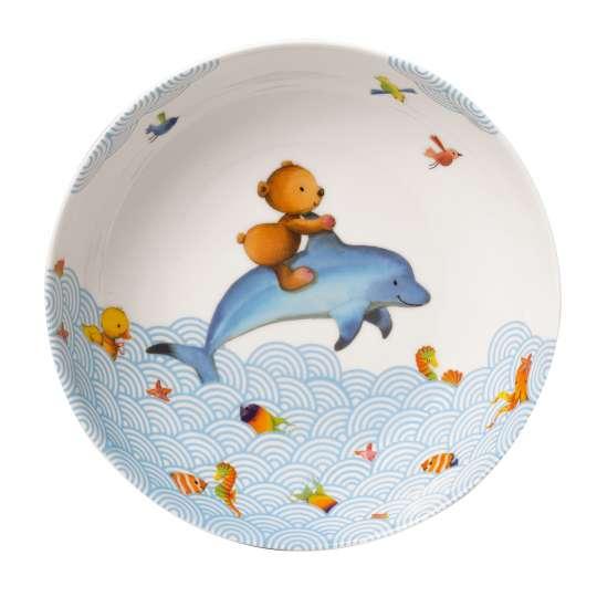 Villeroy & Boch - Happy as a Bear Kinderteller tief,  Ø 18,7 cm