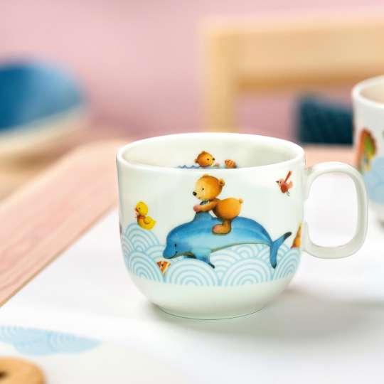 Villeroy & Boch - Happy as a Bear - Kinderbecher - Bär auf Delphin