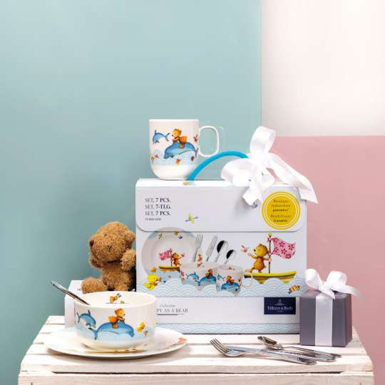Villeroy & Boch - Kindergeschirr Hungry & Happy as a Bear - Verpackung