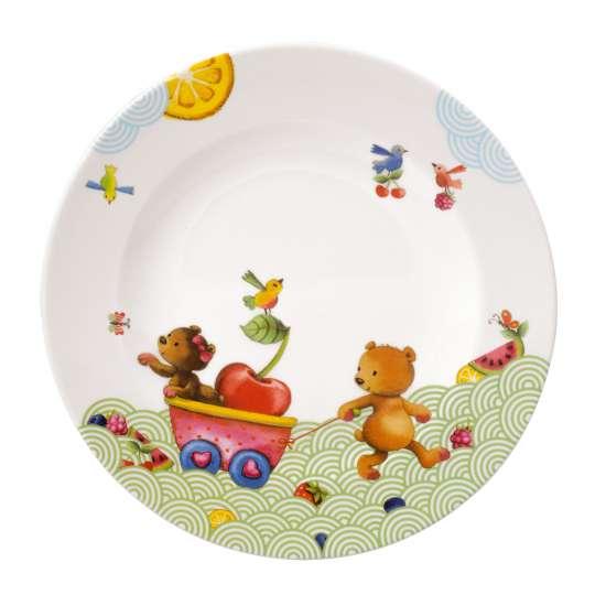 Villeroy & Boch - Hungry as a Bear Kinderteller flach, Ø 21,5 cm