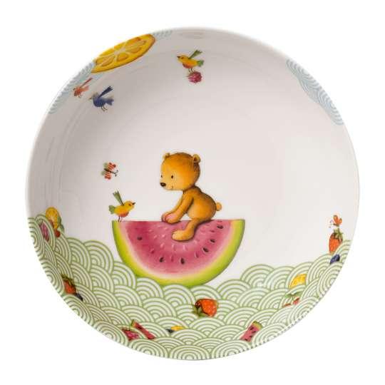 Villeroy & Boch - Hungry as a Bear Kinderteller, tief,  Ø 18,7 cm