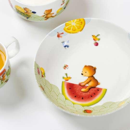 Villeroy & Boch - Hungry as a bear - Teller tief - Bär auf Melone