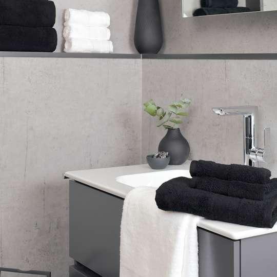 Villeroy & Boch - Badtextilien - Kombination - schwarz-weiß - Bad