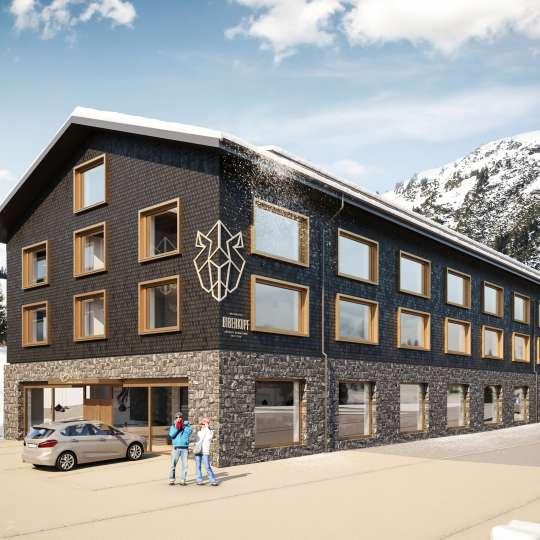 Berghotel Biberkopf Winter