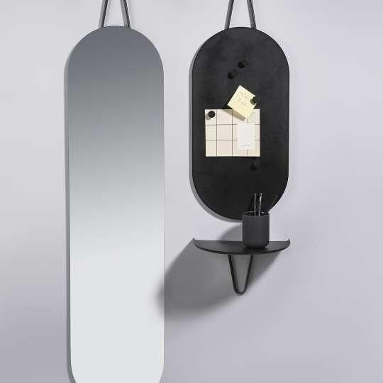 ZONE: A-Collection Pinnwand, Spiegel und Regal