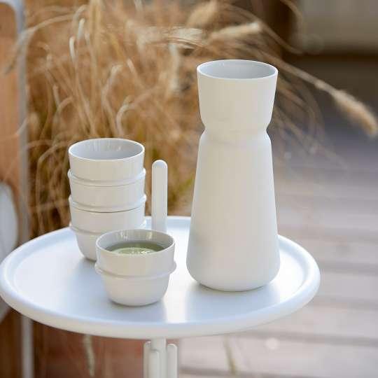 Zone - INU Karaffe mit Tasse - gestapelte Tassen