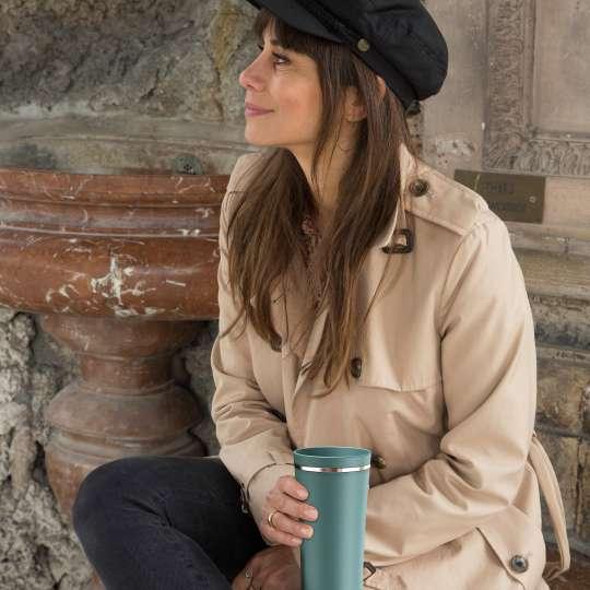alfi - Balance Tea Mug 0,5 Liter - Sea Pine