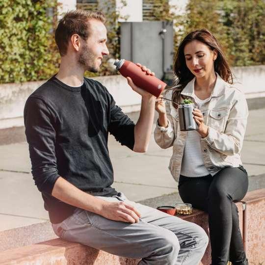 alfi - Endless Line Food Mug & Insulated Bottle