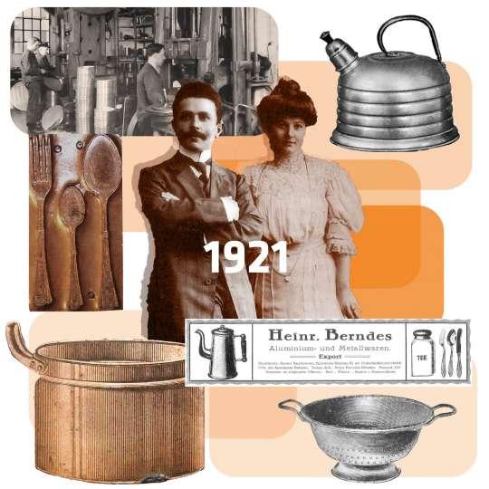 Berndes Historienbilder Collage 1921