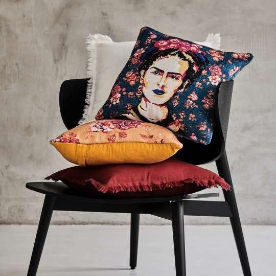 Carla & Marge Leisure Chair Jovanga mit Kissen Frida Kahlo