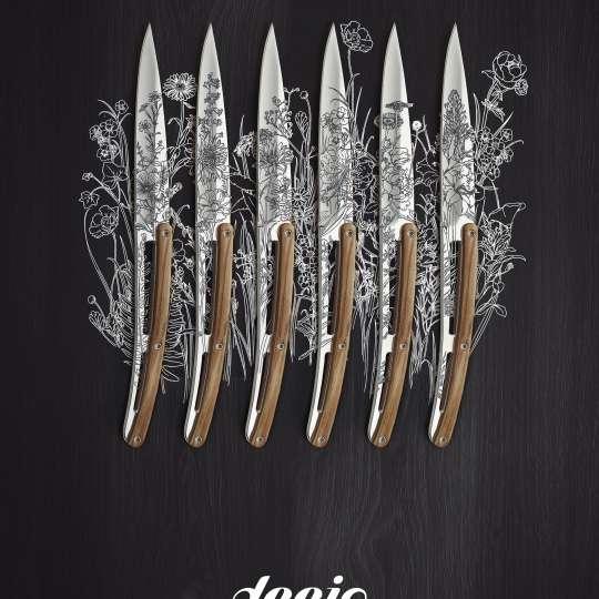 Deejo - Tafelmesser - Messer florales Design