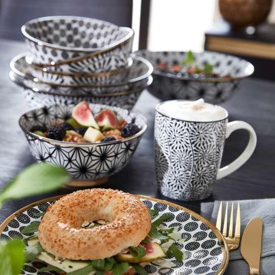 formano - Geschirr Bohemian-Stil - Becher, Teller und Schalen
