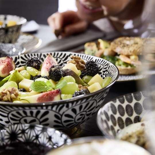 formano - Geschirr Bohemian-Stil - Schale - Salat