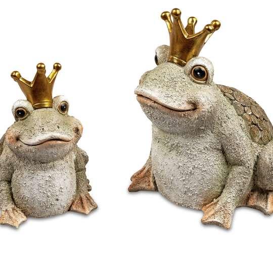 Froschkönig antikfarben