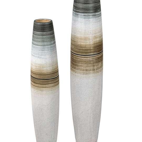 formano - Vasen zwei Größen mit Streifendekor