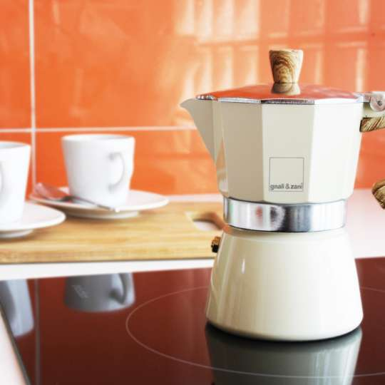 gnali & zani Venezia Espressokocher Stimmungsbild