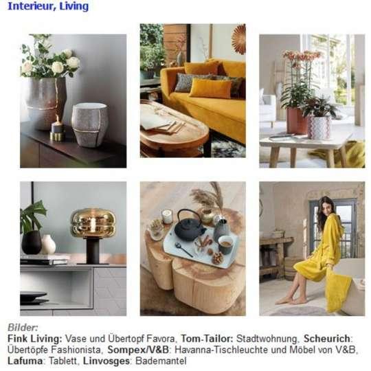 Produktauswahl-TrendXpress: Interieur und Living