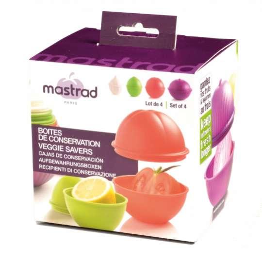 mastrad Frischhaltedosen-Set -  Verpackung
