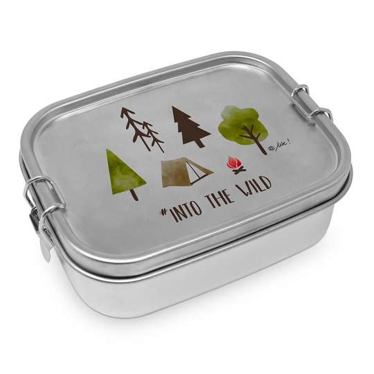 ppd 604218 Into the wild Stainless Steel Lunchbox, 0,9l
