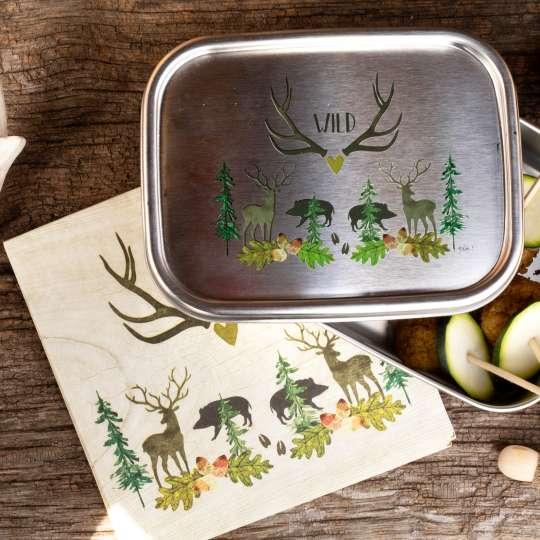 PPD Kollektion Wild  - Lunchbox und Serviette