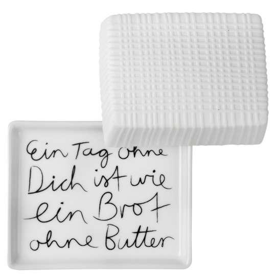 Räder – Mix&Match Freisteller Butterdose EIN TAG OHNE DICH IST WIE EIN BROT OHNE BUTTER