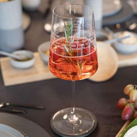 räder - Vino Apéro Glas - gefüllt