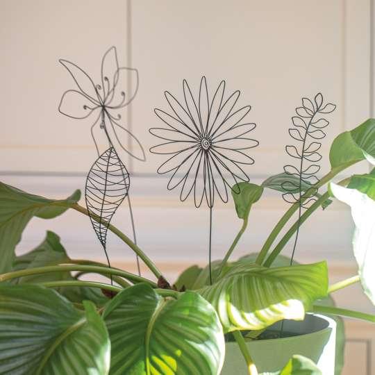 räder - Drahtobjekte Pflanzendeko