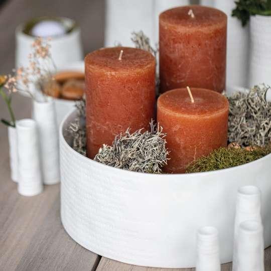räder - Raumpoesie - Schale mit Kerzen