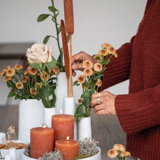 räder - Raumpoesie - Vasen - Dekoration mit Blumen