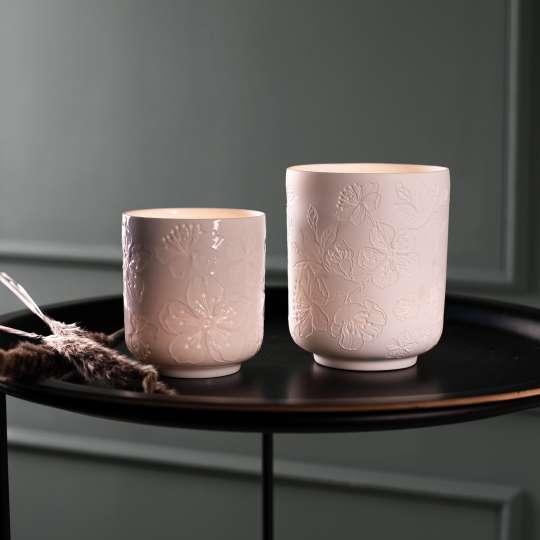 RÄDER Teelichter mit Relief und Prägung - Ambiente