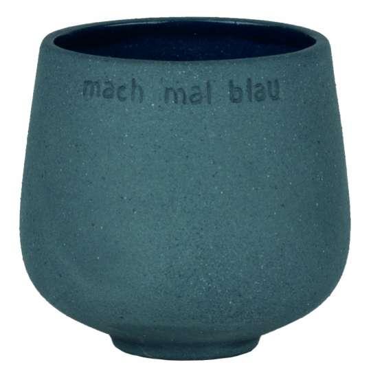 Räder – Blumentopf Blumenfreund – MACH MAL BLAU -  Artikel: 15422