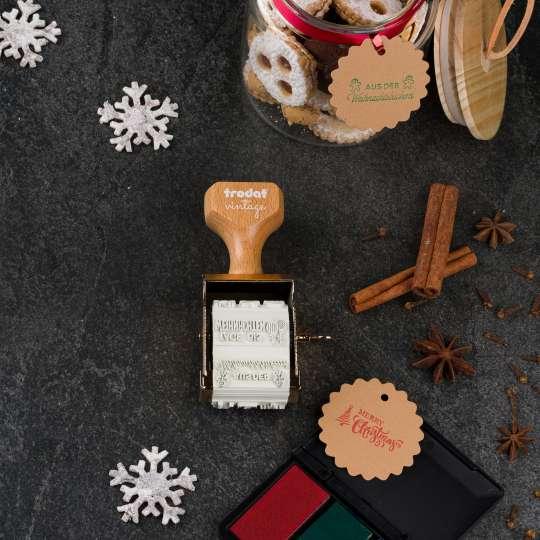 trodat - vintage Stempelset Winter Edition - Keksglas 2