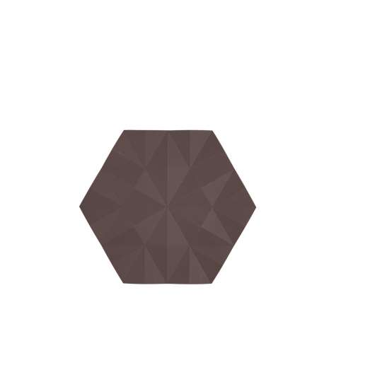 Zone Denmark Ori Facet Chocolate Untersetzer 11803