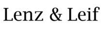 Lenz & Leif Logo