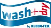 wash+dry Logo